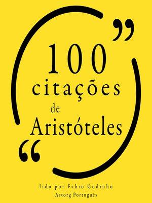cover image of 100 citações de Aristóteles