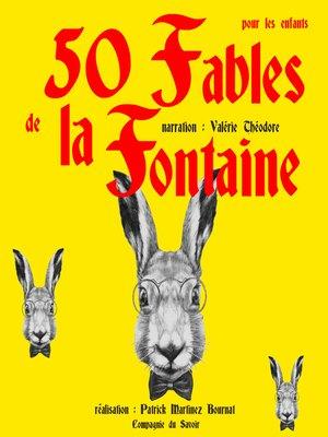 cover image of 50 Fables de La Fontaine pour les enfants