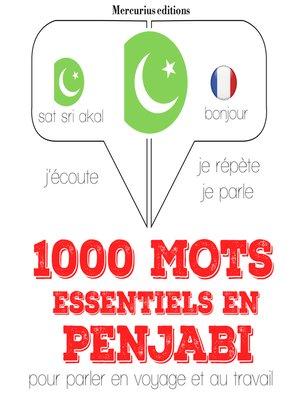 cover image of 1000 mots essentiels en penjabi