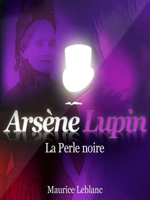 cover image of La perle noire