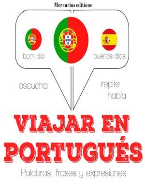 cover image of Viajar en portugués