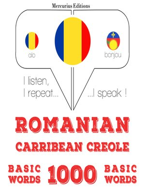 cover image of Romanian-Carribean Creole: 1000 basic words
