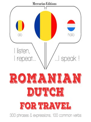 cover image of Romanian-Dutch: For travel