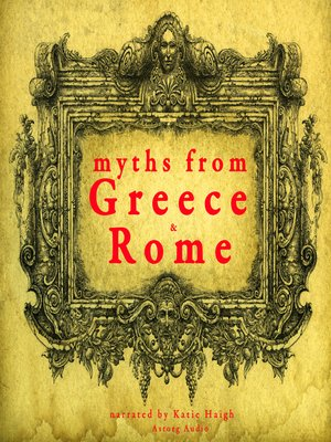 cover image of 7 Myths of Greece and Rome