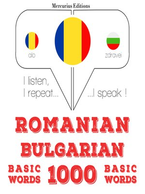 cover image of Romanian-Bulgarian: 1000 basic words