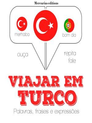 cover image of Viajar em turco