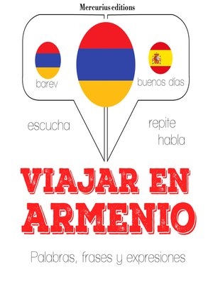 cover image of Viajar en armenio