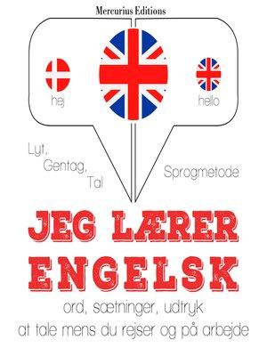 cover image of Jeg lærer engelsk
