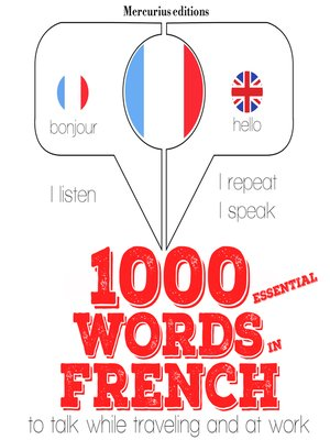 cover image of 1000 Essential Words in French