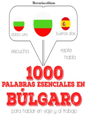 cover image of 1000 palabras esenciales en búlgaro