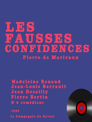 cover image of Les fausses confidences