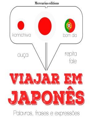 cover image of Viajar em japonês
