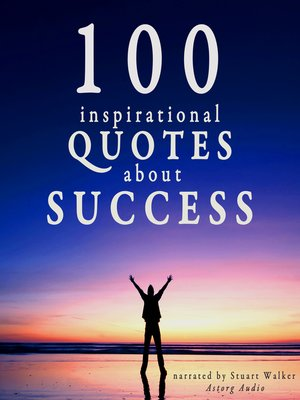 cover image of 100 Inspirational Quotes about Success