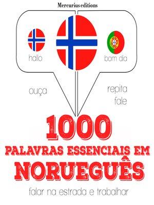 cover image of 1000 palavras essenciais em norueguês
