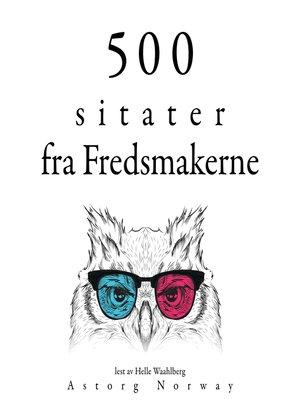 cover image of 500 fredsmakertilbud