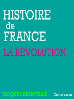 cover image of La révolution