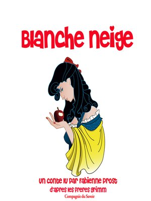 cover image of Blanche neige des frères Grimm