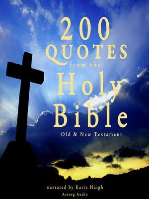 cover image of 200 Quotes from the Holy Bible