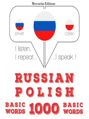 cover image of Russian-Polish: 1000 basic words
