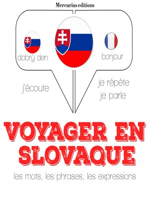cover image of Voyager en slovaque