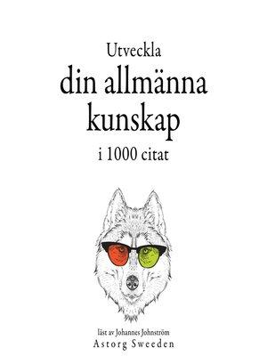 cover image of Utveckla din allmänna kunskap i 1000 offerter