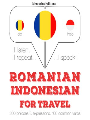 cover image of Romanian-Indonesian: For travel