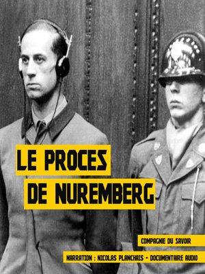 cover image of Le procès de Nuremberg