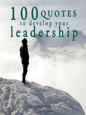 cover image of 100 Quotes to Develop your Leadership