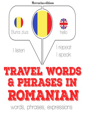 cover image of Travel Words and Phrases in Romanian