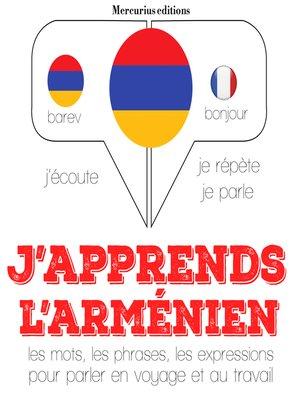 cover image of J'apprends l'arménien