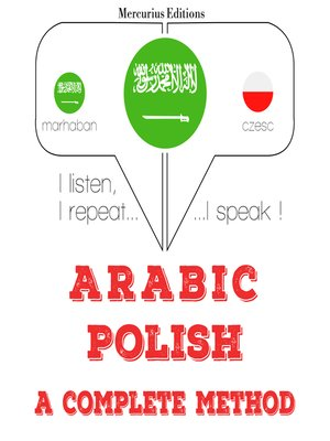 cover image of Arabic-Polish: a complete method