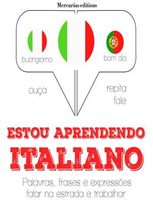 cover image of Estou aprendendo italiano