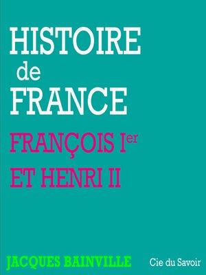 cover image of François ier et Henri II