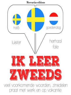 cover image of Ik leer Zweeds