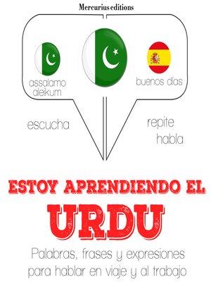 cover image of Estoy aprendiendo el Urdu