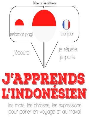 cover image of J'apprends l'indonésien
