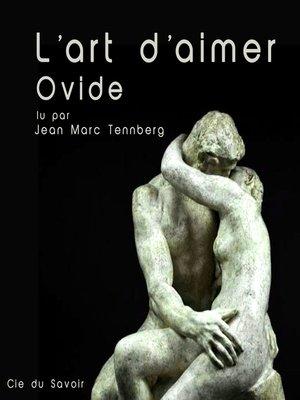 cover image of L'art d'aimer