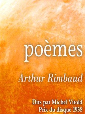 cover image of Poèmes d'Arthur Rimbaud
