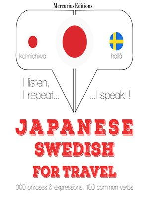 cover image of Japanese-Swedish: For travel