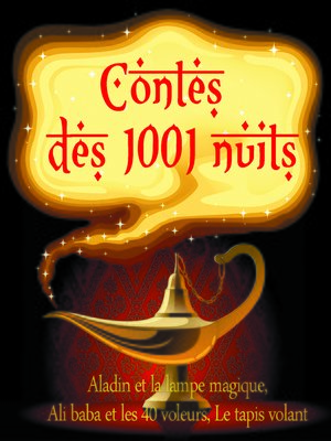 cover image of 3 contes des 1001 nuits