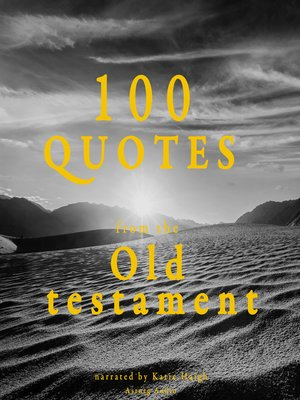 cover image of 100 Quotes from the Old Testament