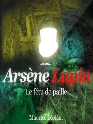 cover image of Le fétu de paille