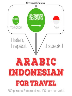 cover image of Arabic-Indonesian: For travel