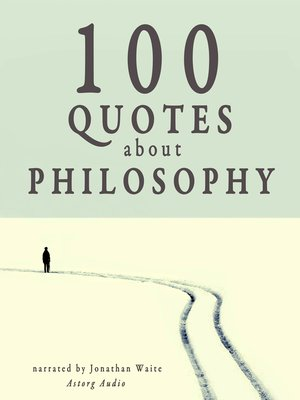 cover image of 100 Quotes about Philosophy