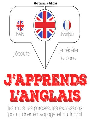 cover image of J'apprends l'anglais