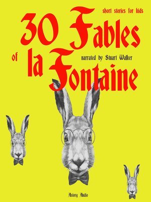 cover image of 30 Fables of La Fontaine for Children