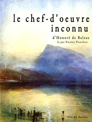 cover image of Le chef d'oeuvre inconnu