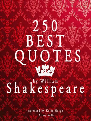 cover image of Best Quotes by William Shakespeare