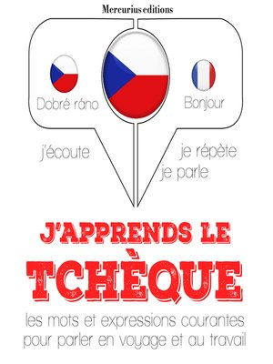 cover image of J'apprends le tchèque