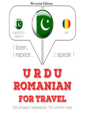 cover image of Urdu-Romanian: For travel
